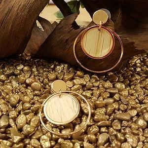 CLOSING New Natural Wood Look Earrings